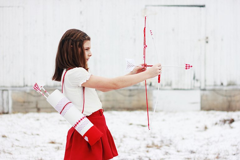 Valentine S Day Bow Arrows The Merrythought