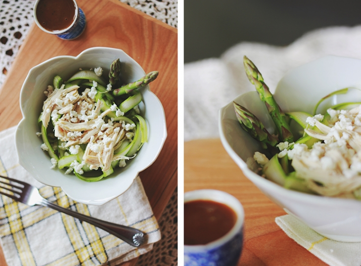 Asparagus Ribbon Salad | The Merrythought