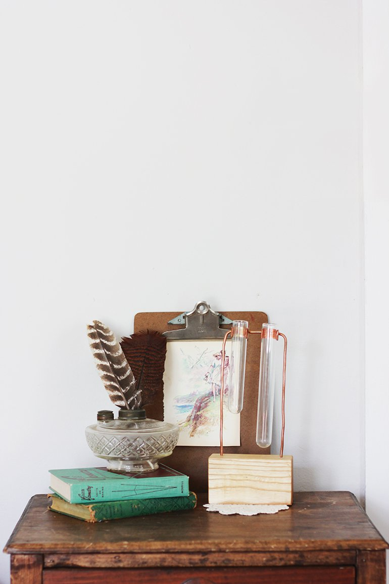 DIY Copper Chemist Vase | The Merrythought