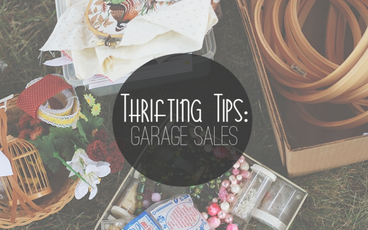Thrift Tips: How to be a Good Garage Sale Shopper | The Merrythought