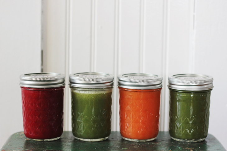 4 Healthy Juicing Recipes @themerrythought