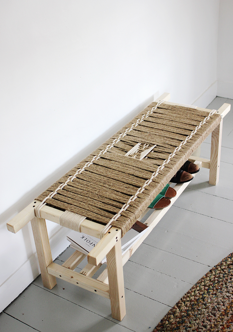Diy Woven Bench The Merrythought