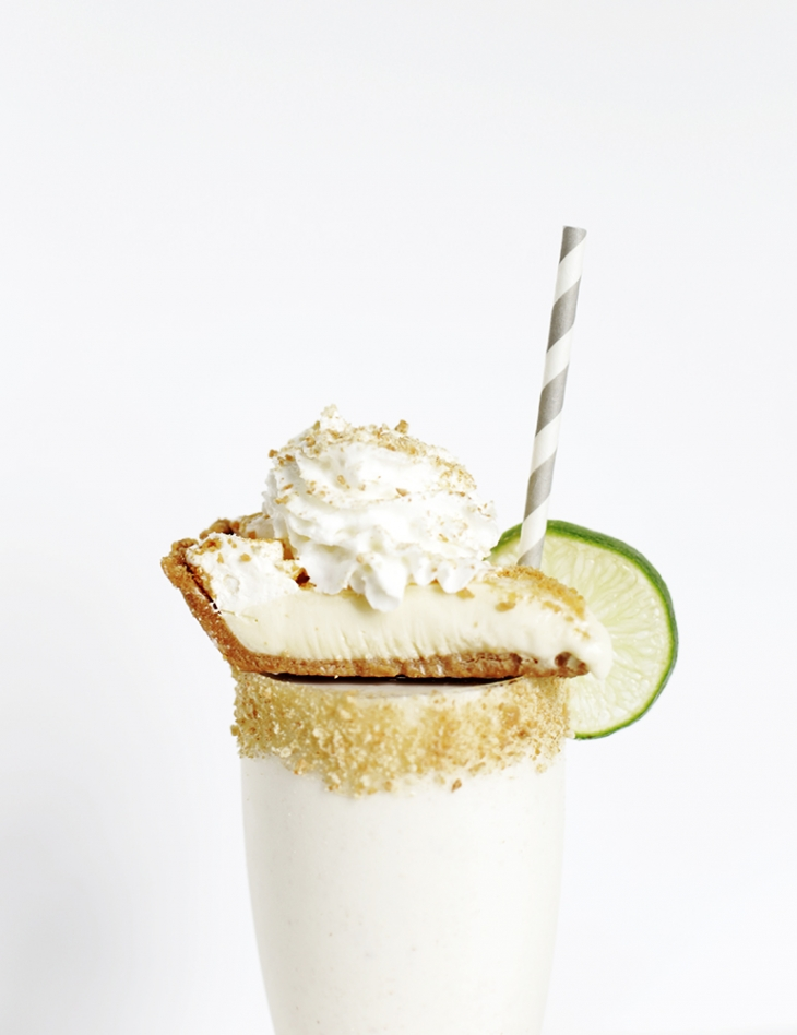 Key Lime Pie Milkshake @themerrythought with @perrysicecream