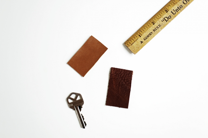 DIY Leather Key Cover @themerrythought