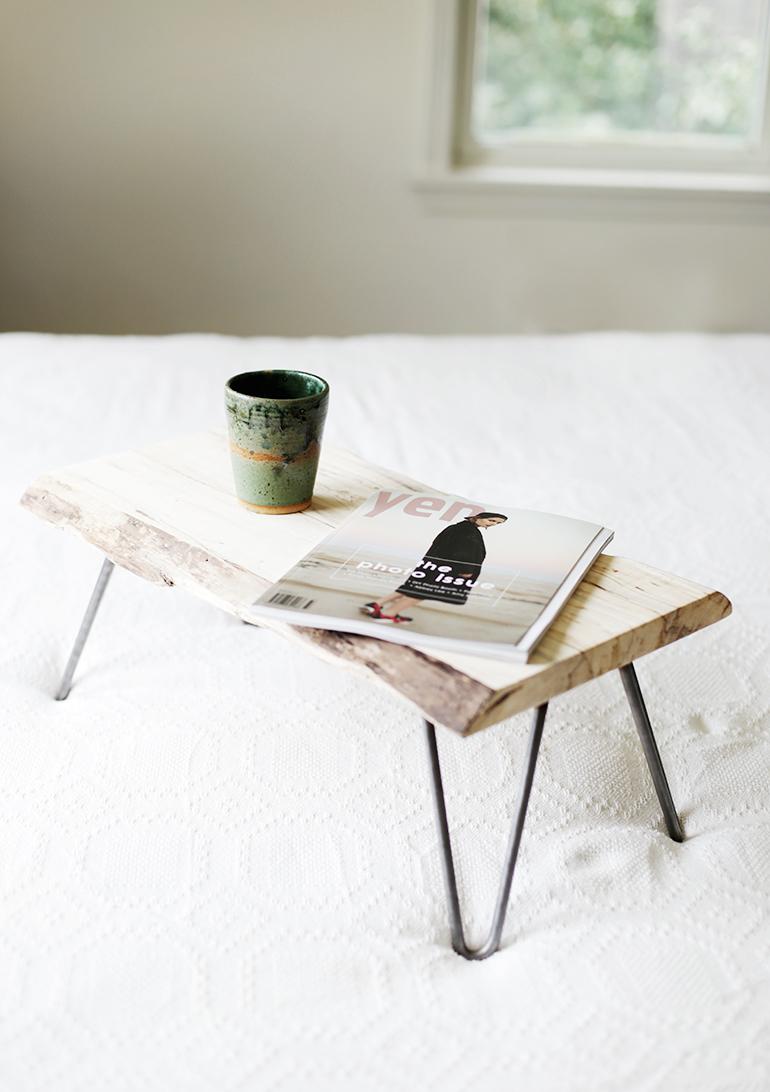 DIY Madeira e Hairpin Leg Lap Deskthemerrythought