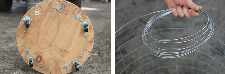 Diy Wire Laundry Hamper The Merrythought