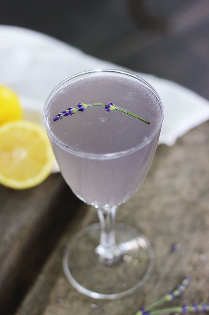 Lemon Lavender Mocktail @themerrythought