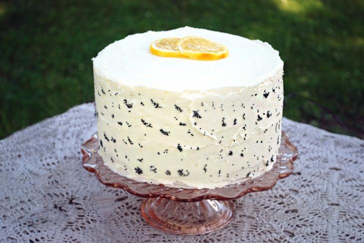 lemon poppy seed layer cake - photo #36