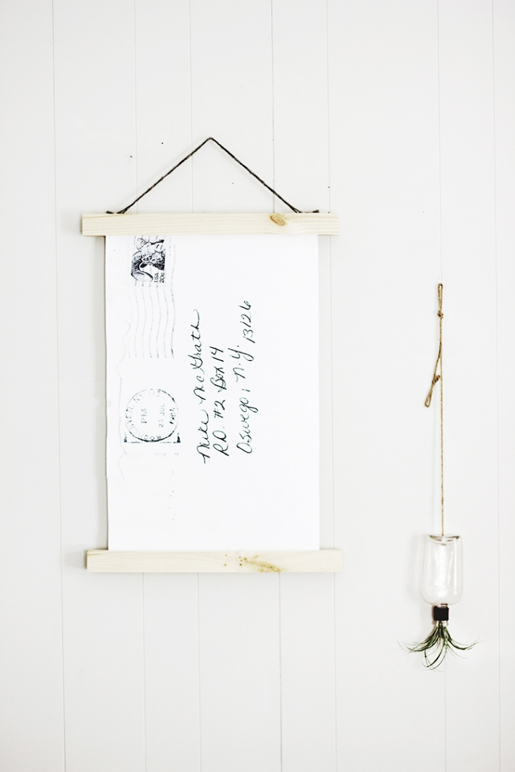 DIY Love Letter Wall Art @themerrythought