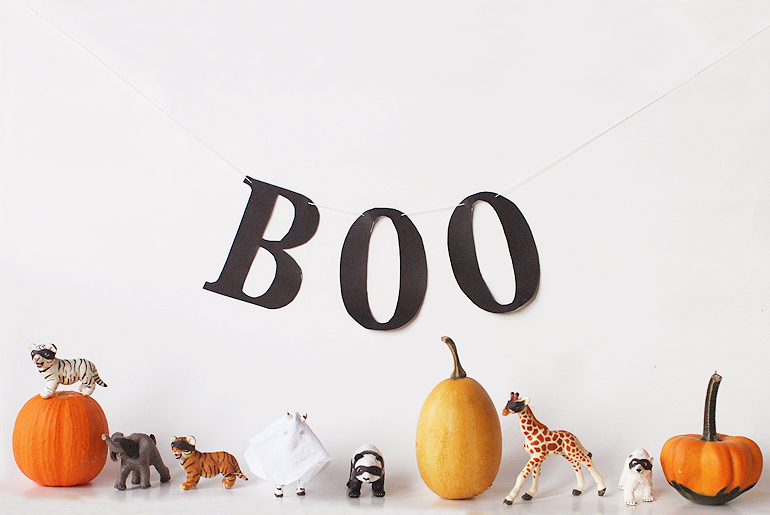 Masked Animals - Halloween Decor | The Merrythought