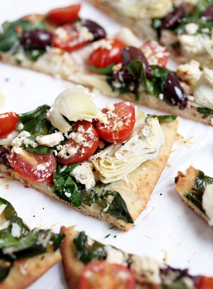 Mediterranean Flatbread @themerrythought
