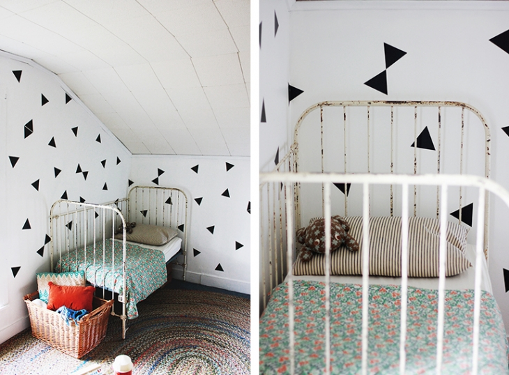 Triangle Decals - Kids Room | The Merrythought