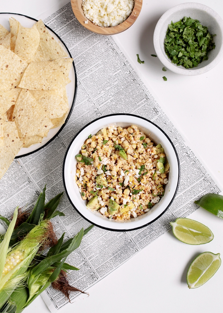 Mexican Corn Dip @themerrythought