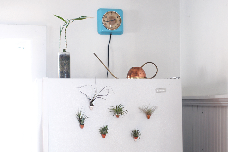 DIY Mini Clay Pot Magnets  @themerrythought
