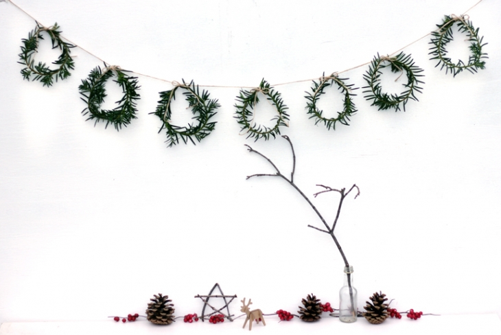 Mini Wreath Garland @themerrythought