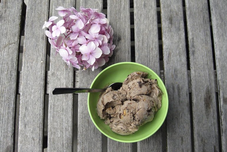 Mocha Almond Ice Cream | The Merrythought