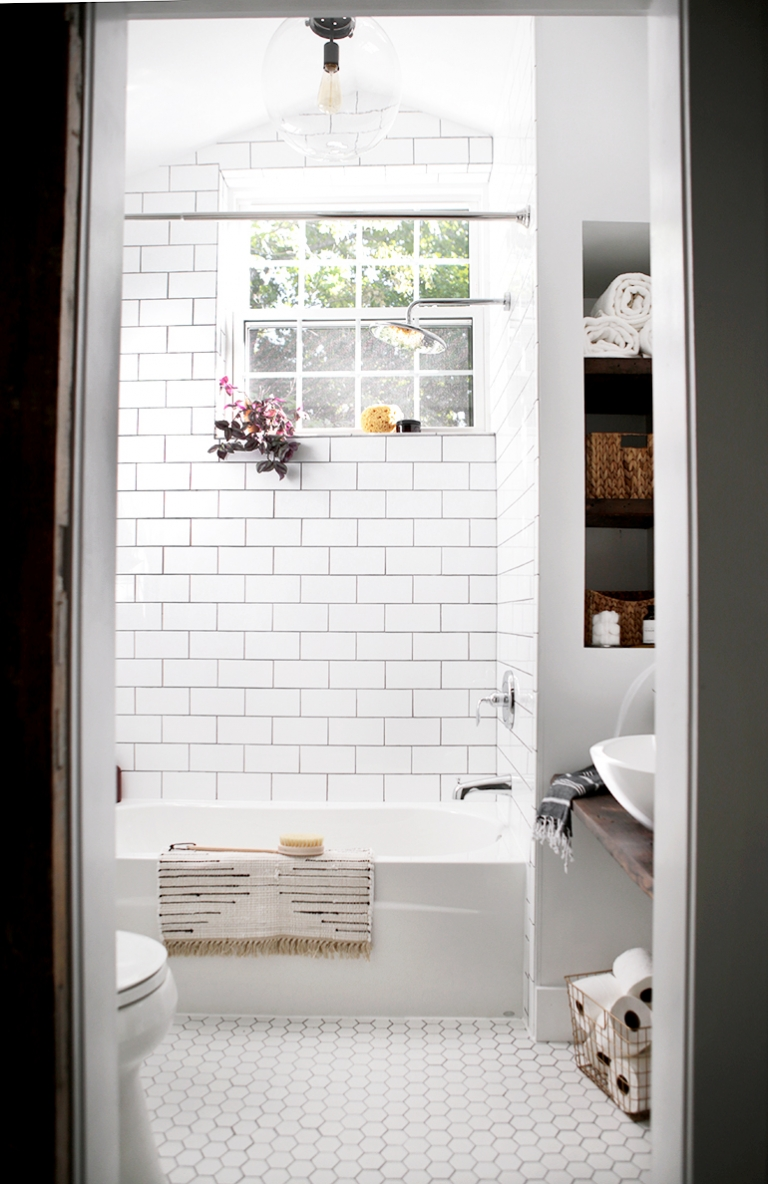 Bathroom Reveal - The Merrythought
