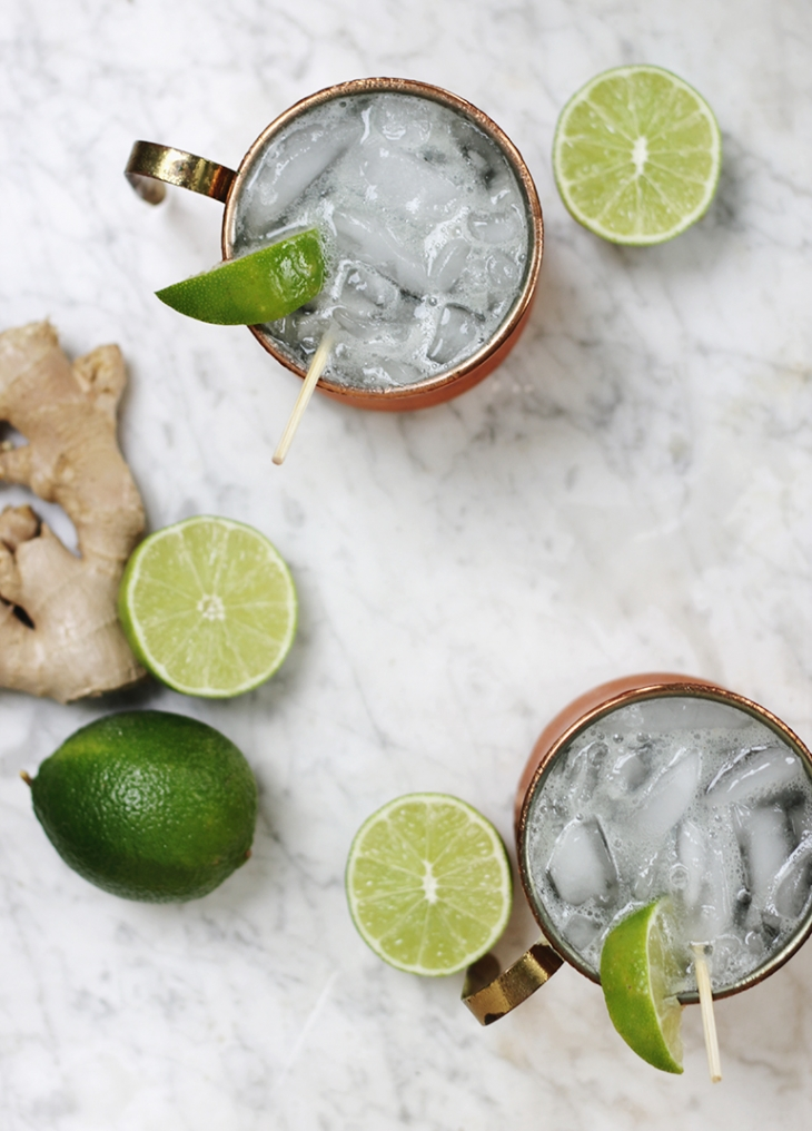 Moscow Mule Mocktail @themerrythought