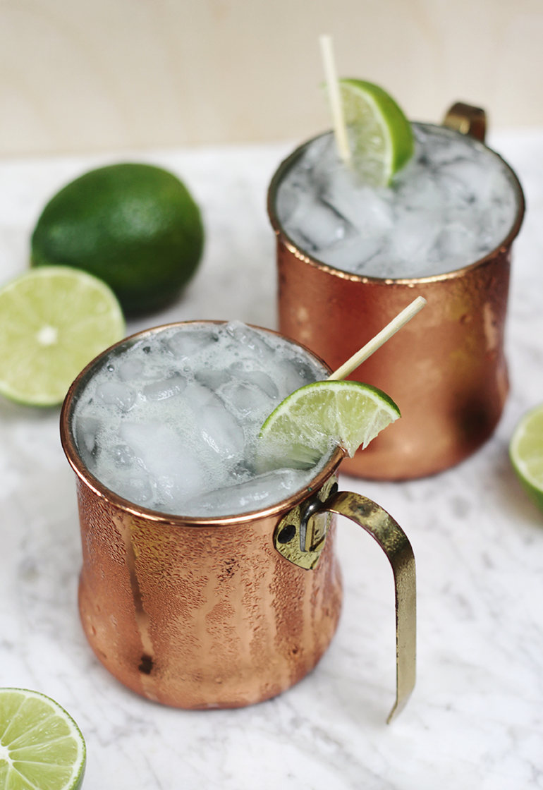Moscow Mule Mocktail Themerrythought