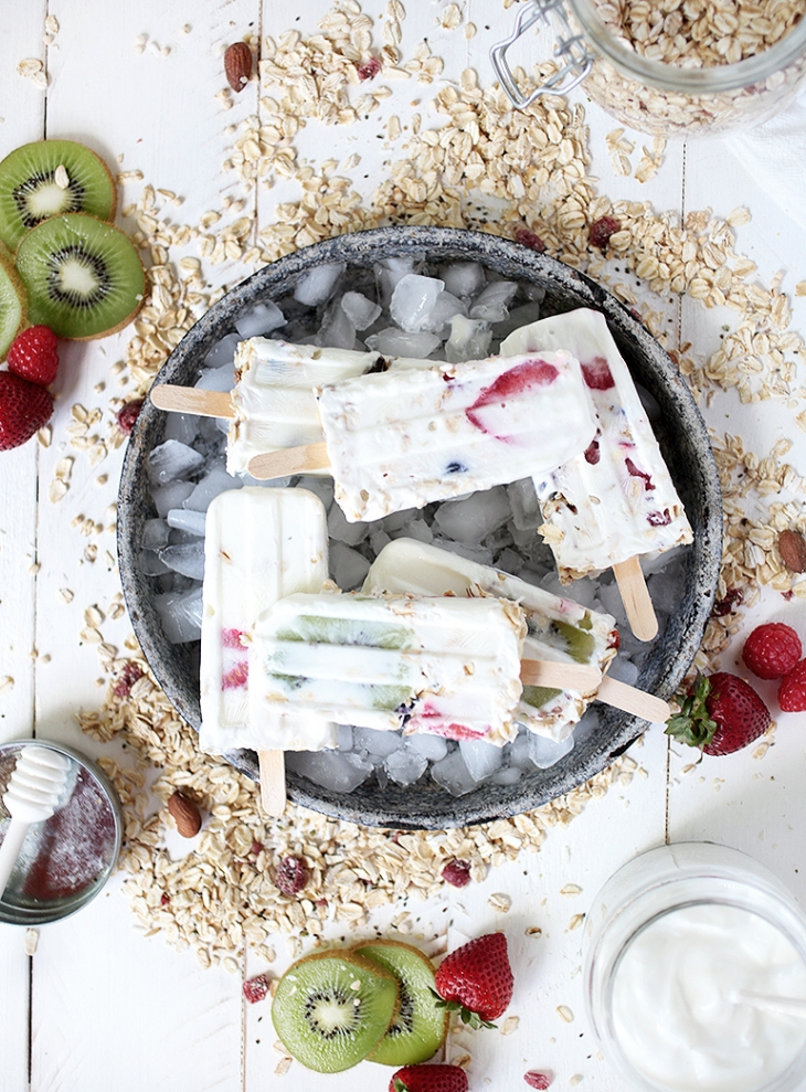 Muesli Breakfast Popsicles @themerrythought