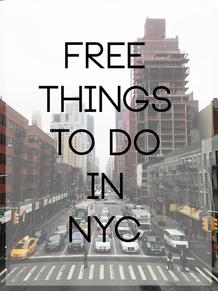 Free Things To Do In NYC @themerrythought