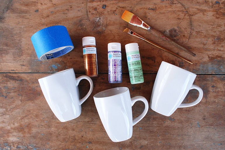 Paint Dipped Mug