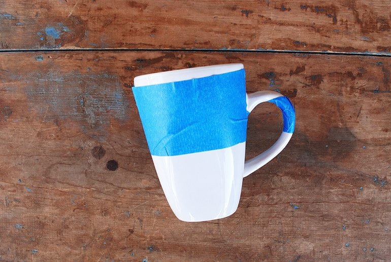 Paint Dipped Mugs