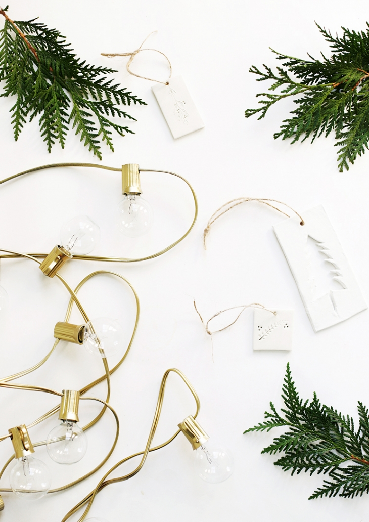 DIY Painted String Lights @themerrythought
