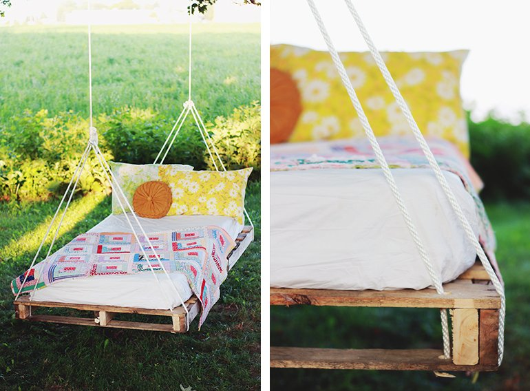 Pallet Swing | @themerrythought