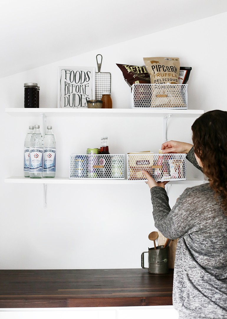 Pantry Organization Diy Leather Labels The Merrythought