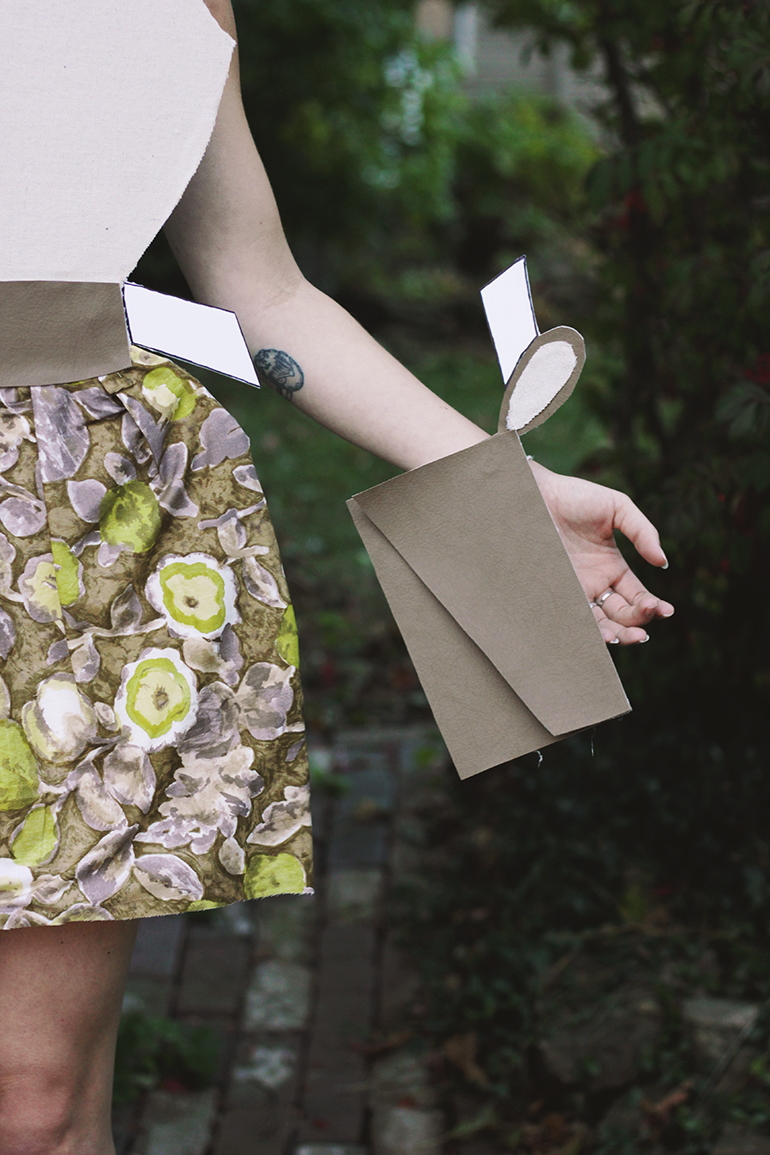 DIY Paper Doll Costume @themerrythought