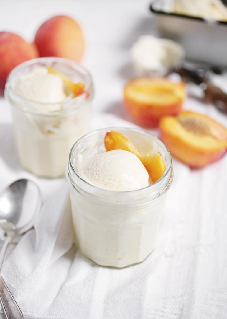 Peach Ice Cream » The Merrythought