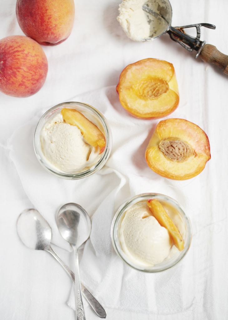 Peach Ice Cream @themerrythought