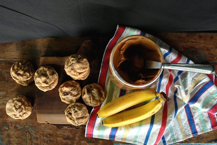 Peanut Butter Banana Cookies | The Merrythought