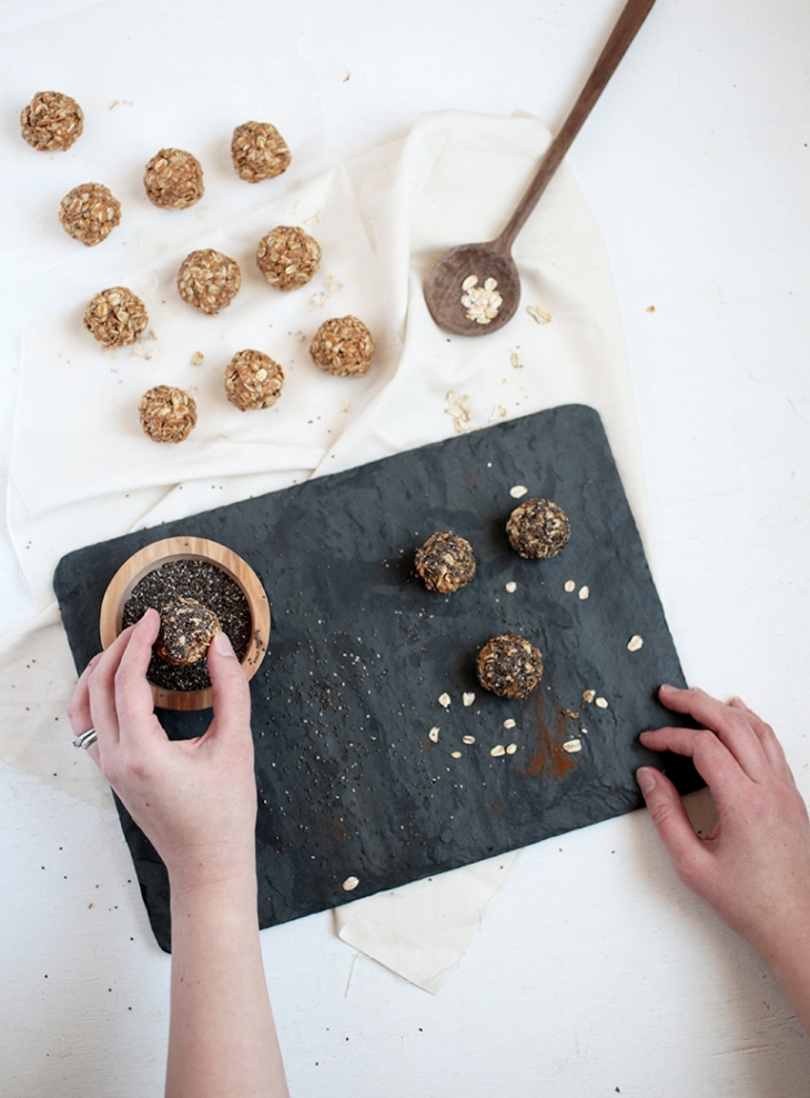 Peanut Butter Oatmeal Energy Bites @themerrythought