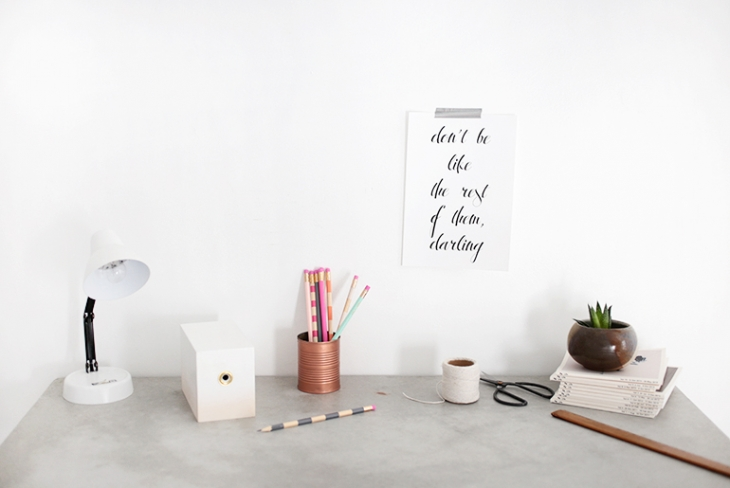 DIY Pencil Sharpener Makeover @themerrythought