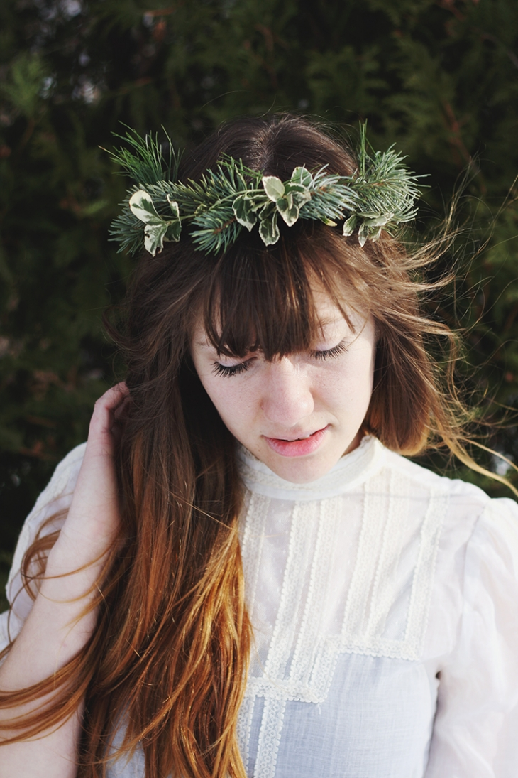 DIY Pine Crown @themerrythought