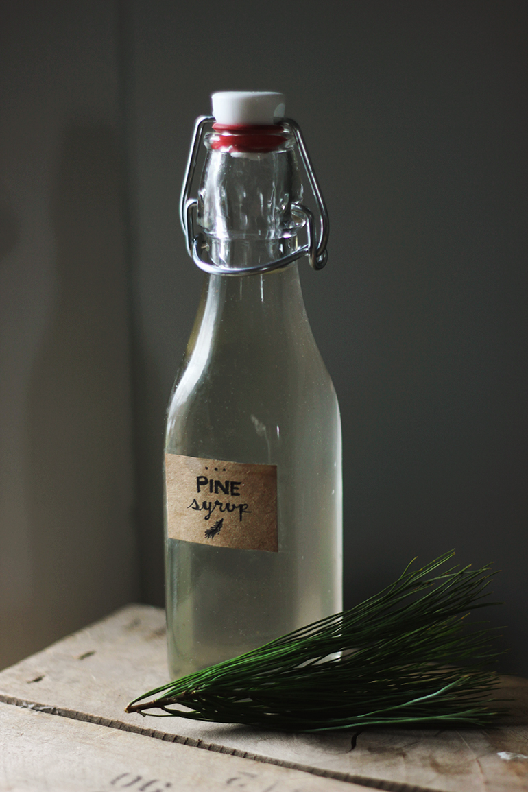 Pine simple syrup the merrythought - Fir tree syrup recipe and benefits ...