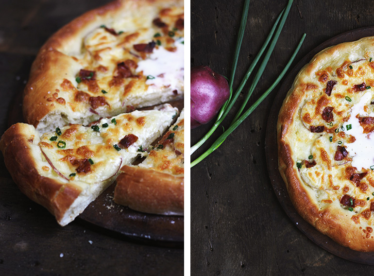 Baked Potato Pizza » The Merrythought