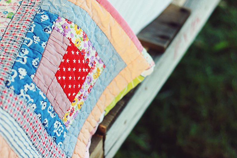 Pretty Quilts | @themerrythought