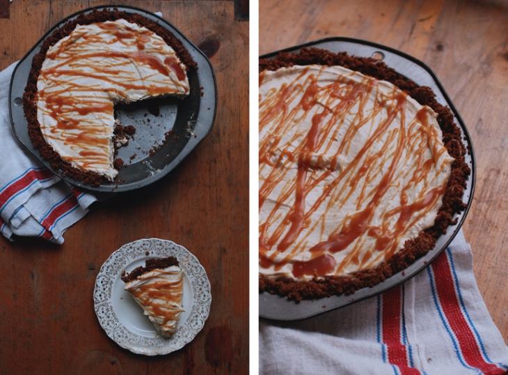 Pumpkin Cheesecake Pie | The Merrythought
