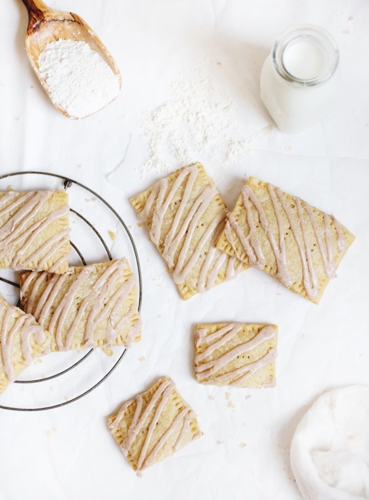 Pumpkin Pop Tarts with Maple Icing @themerrythought