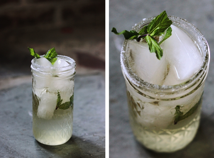 Non-Alcoholic Mint Julep @themerrythought