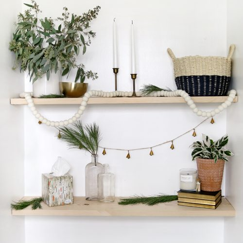 Minimal Holiday Decor @themerrythought
