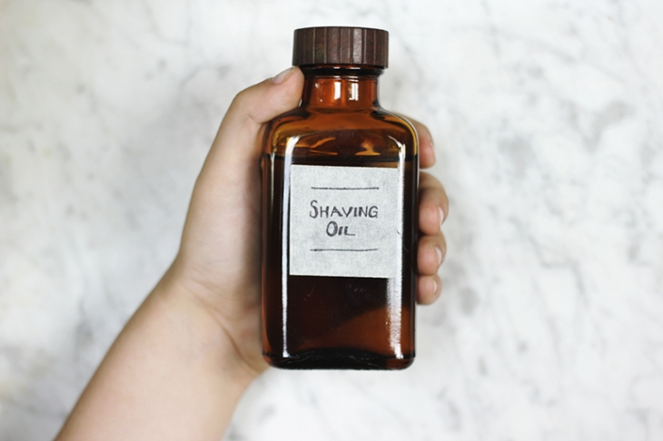 DIY Pre-Shave Oil @themerrythought