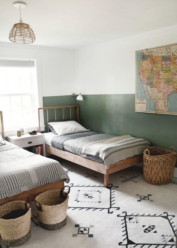 Diy Wood Dowel Twin Bed How To Build Wood Dowel Bed