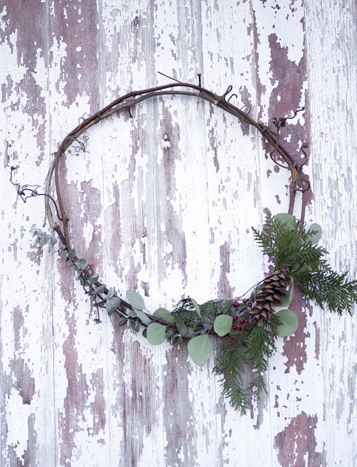Simple Wreaths @themerrythought