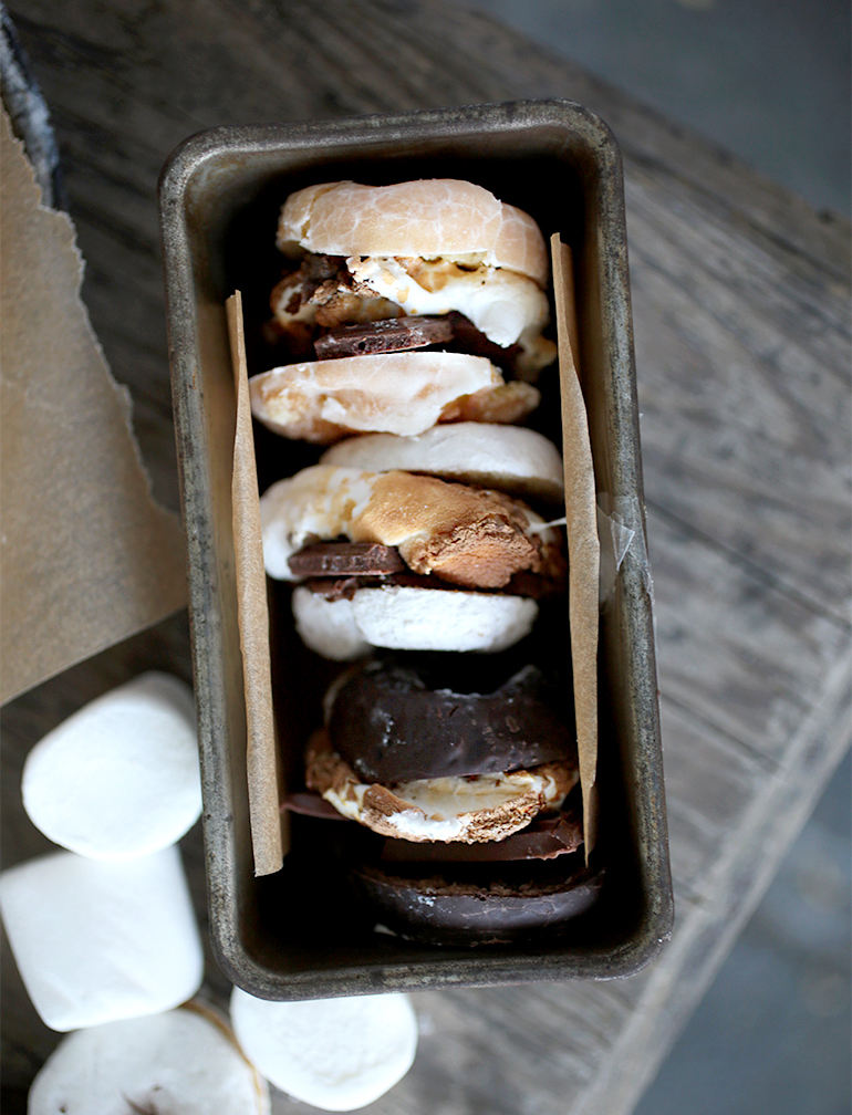 mores donuts donuts regular or mini marshmallows chocolate try