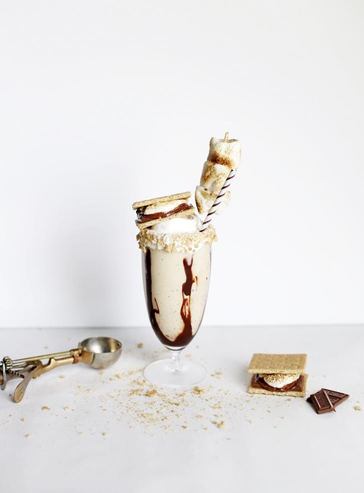 Smores Milkshake @themerrythought
