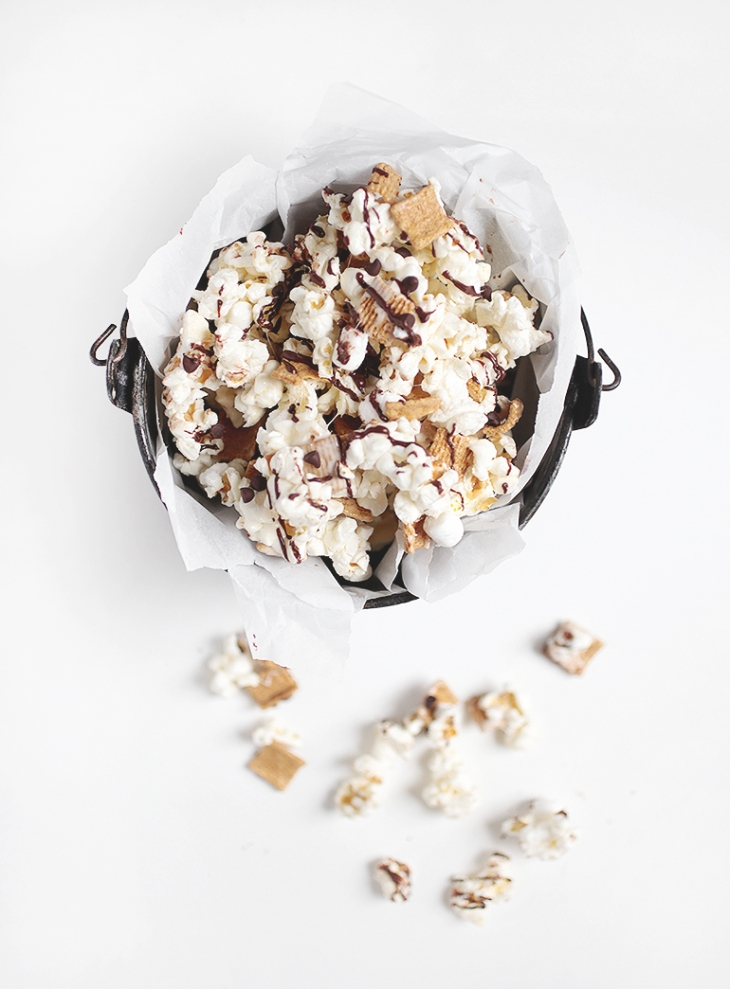 Smores Popcorn @themerrythought